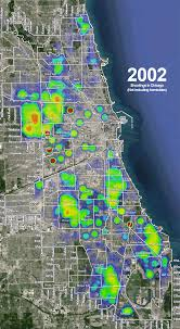 chicago map shootings timelapse heat map of chicago s shootings wbez chicago