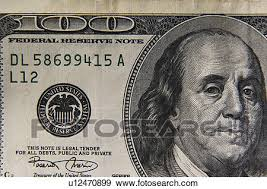 stock photograph of one hundred dollar bill u12470899 search stock