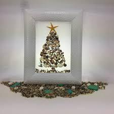 seashell christmas tree starfish christmas decor aqua beach