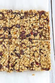 Top 10 Healthiest Granola Bars by No Bake 5 Ingredient Granola Bars Brown Eyed Baker