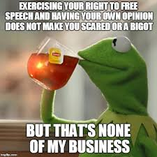 Make My Own Meme Free - but thats none of my business meme imgflip