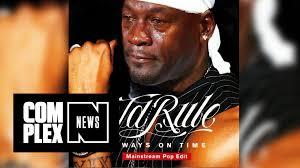Mj Meme - ja rule thinks mj gets paid for crying jordan meme youtube