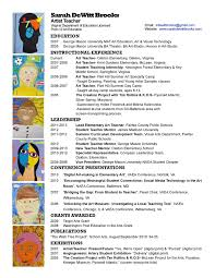 curriculum vitae template for teachers australia movie art teacher resume of art teacher resume exles latest resume