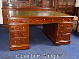 partners desks victorian regency pedestal desks canonbury antiques