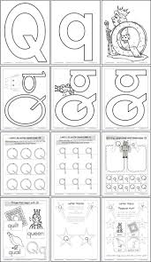 71 best letter q activities images on pinterest preschool
