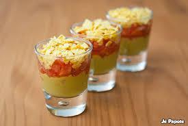 cuisine verrine verrine mexicaine guacamole tomate je papote