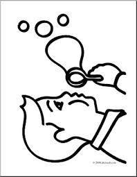 clip art basic words bubble coloring abcteach