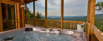 blue ridge north georgia cabin rentals ga luxury cabin rental hot tub