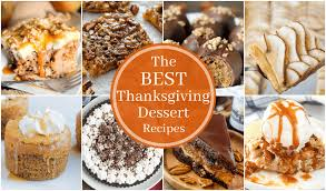 best thanksgiving dessert recipes that can bake