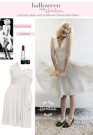 iconic marilyn monroe costume inspiration with a convertible dress get something that you