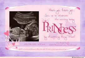 princess baby shower princess baby shower invitation royal ultrasound photo