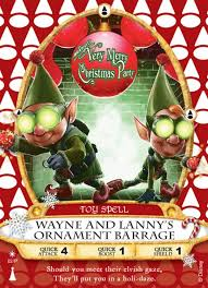 wayne and s ornament barrage sorcerers of the magic