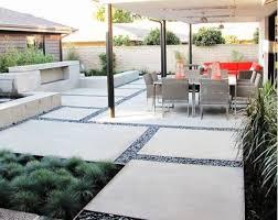 Best  Modern Landscape Design Ideas On Pinterest Modern - Concrete backyard design ideas