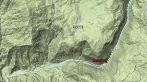 Yosemite Valley Map Dog Rock Fire