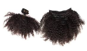 hair extension tight 3c 4a curl 7 clip in hair extension by onyc
