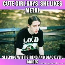 Black Metal Meme Generator - first world metal problems image gallery know your meme