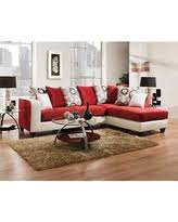 Microfiber Sectional Sofa Surprise Deals For Red Sectional Sofa