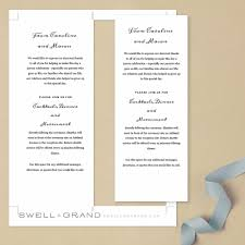 print at home wedding programs print at home wedding program template instant quill