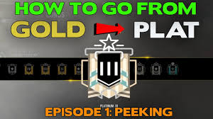 rainbow six siege tips how to rank up from gold to platinum ep