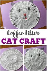 coffee filter umbrella craft look we u0027re learning
