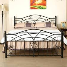 wrought iron bed frame smoon co