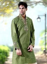 kurta colors men kurta designs in green color gents kurta collection 2013