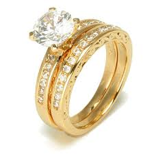 wedding gold rings yellow gold wedding ring with diamond ipunya