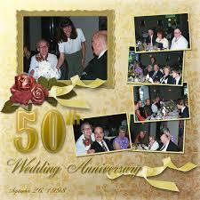 50th wedding anniversary photo album 50th wedding anniversary members galleries scrap
