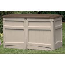 suncast horizontal storage shed 138480 patio storage at