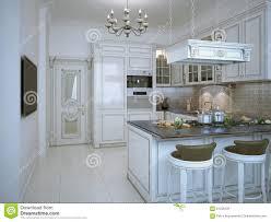 kitchen art design art deco corridor design stock illustration image 56455088