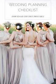 bridal wedding planner wedding planning checklist junebug weddings