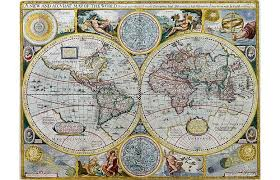 Decorative World Map Jonathan Potter U0027s Collection Of Rare Antique Maps Up For Sale