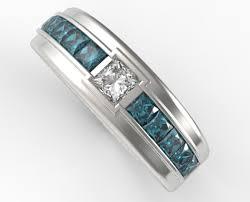 Princess Cut Diamond Wedding Rings by Princess Cut Diamond Wedding Ring For A Men Vidar Jewelry