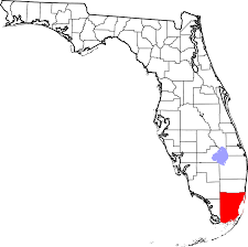 Coral Gables Florida Map by File Map Of Florida Highlighting Miami Dade County Svg Wikimedia
