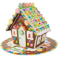 wilton pre baked u0026 assembled mega chocolate cookie house