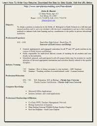 Resume Template For Teaching Job Teacher Resume Template 2017 Resume Builder
