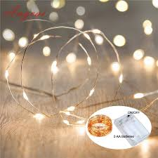 miniature led new year lights 100pcs lot cr2032 on battery