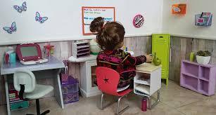 Homeschool Desk Fun With Ag Fan My Doll Homeschool Room Tour