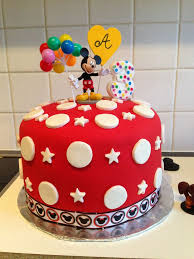 easy diy mickey mouse cake