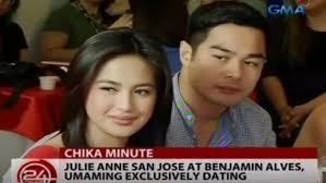Julie Ann San Jose and Benjamin Alves exclusively dating   PEP ph