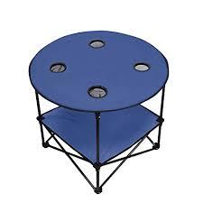 preferred nation folding table amazon com preferred nation folding table polyester with metal