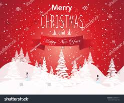 merry christmas happy new year card stock vector 234862111