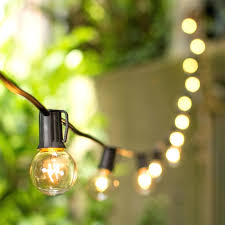 patio ideas image of commercial outdoor string lights galvanized