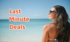 top tips to find a last minute deal to the sun
