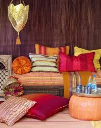 Moroccan Home Decor Astounding Moroccan Home Interior With Coffered Ceiling And Wall