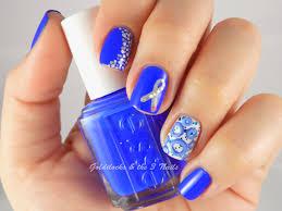goldilocks u0026 the three nails world diabetes day nail art