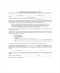 sample recommendation letter from employer 6 examples in word pdf