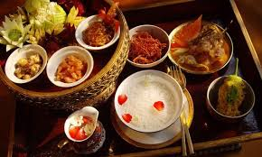 cha e cuisine khao chae chow wang ancient dish food