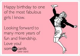 Birthday Meme For Friend - happy birthday meme funny girl feeling like party