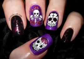 25 excellent nail art skull u2013 slybury com